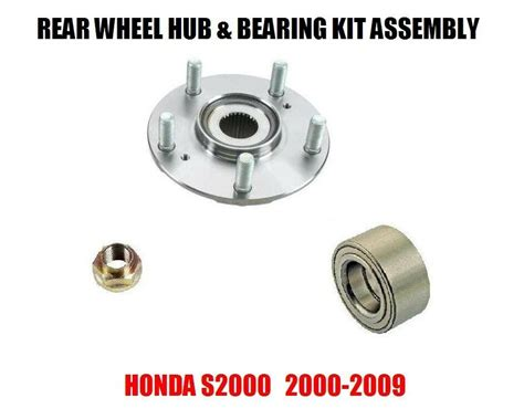 Honda S2000 Rear Wheel Hub And Bearing Kit Assembly 2000