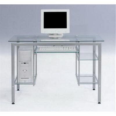 bureau table en verre bureau verre trempé achat vente bureau bureau verre