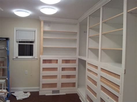 built in closets custom built in closet sawdust 174