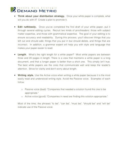White Paper Template White Paper Template