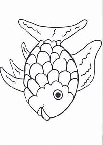 rainbow fish template az coloring pages With rainbow fish colouring template