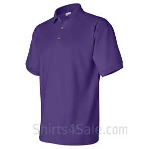Purple Cotton Polo Shirts