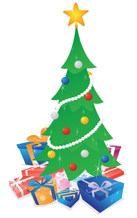 white battery christmas lights christmas tree with gifts clipart christmas lights