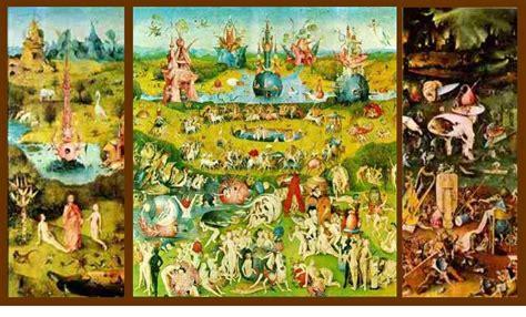 Il Giardino Delle Delizie Di Bosch  Semplicemente Io
