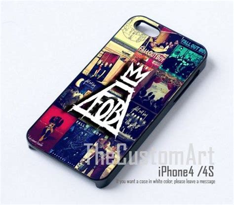 fall out boy collage - For iPhone 4/4S Black Case Cover ...