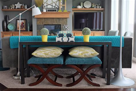 how to decorate a sofa table behind a couch october to remember 31 days of interior styling teal
