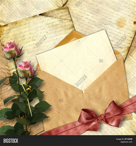 love letter flower  image photo  trial bigstock