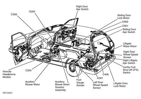 emergency fuel shutoff mechanism   ford windstar