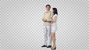 Stock Video Of Male Girl Standing And Looking 8693518
