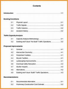 apa format table of contents letter format mail With apa table template word