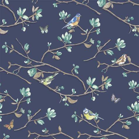 holden decor kira bird butterfly pattern floral flower