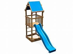 Sandkasten Kunststoff Xxl : spielhaus mit rutsche und sandkasten affordable fatmoose donkeydome double xxl spielturm ~ Orissabook.com Haus und Dekorationen