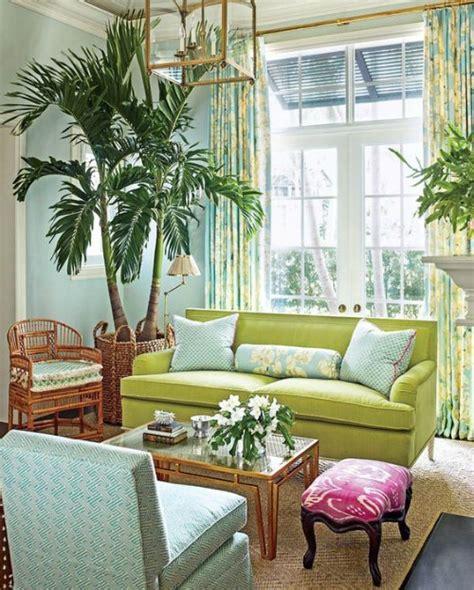 lime green decor completely coastal