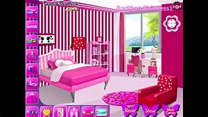 Barbie Room Decor Game - YouTube