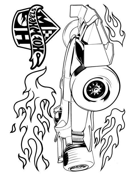 Kleurplaat Hotwheel by Wheels Coloring Page Coloring Pages Color
