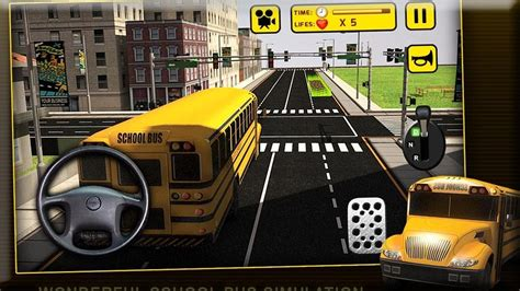 school bus simulator  games android gameplay hd youtube