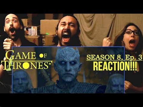 game  thrones season  episode  reaction  long