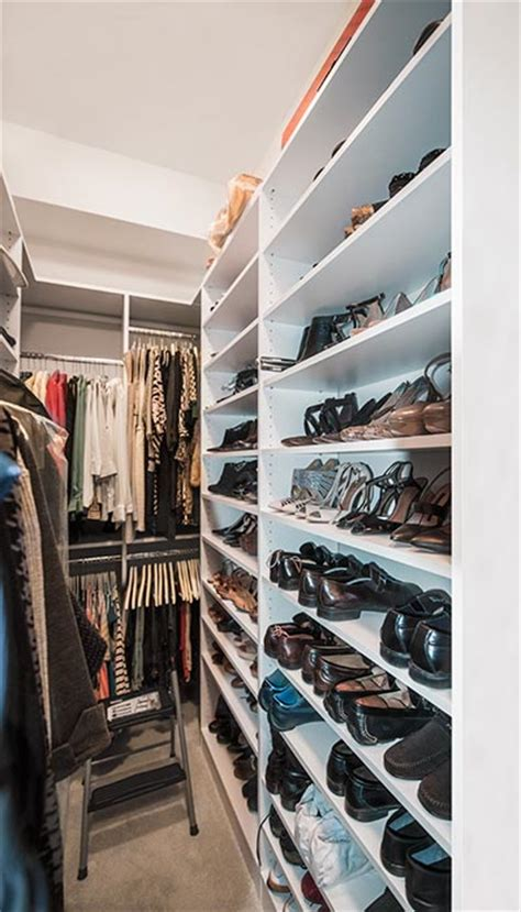 narrow closet ideas to maximize storage in a tight
