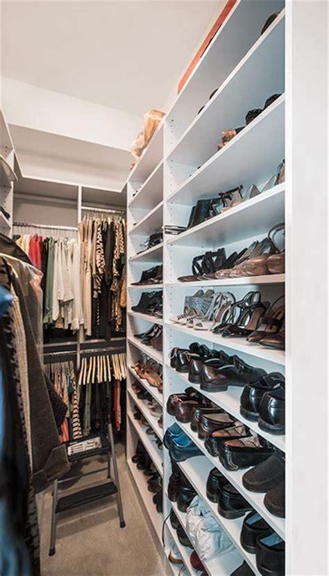 narrow closet ideas to maximize storage in a tight