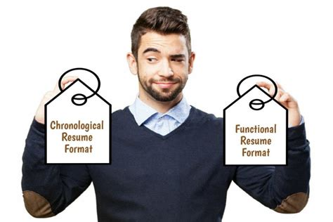 Chronological Resume Vs by Chronological Vs Functional Resume Which Is Right For