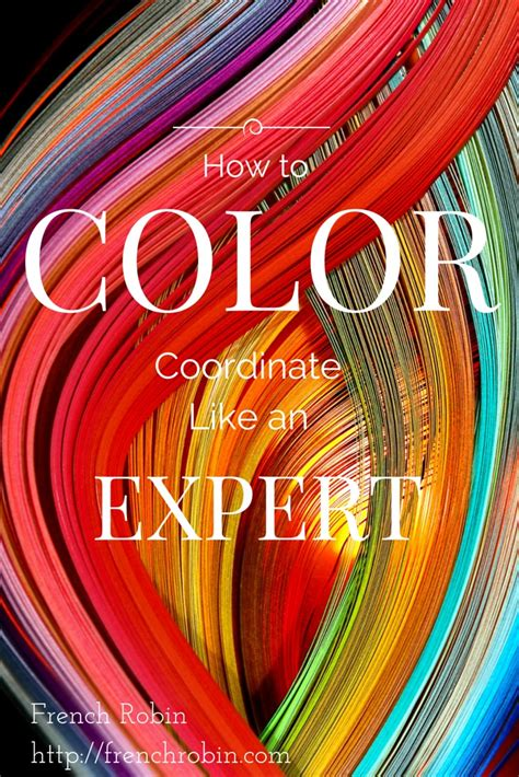 easy tips  color coordinate   expert french