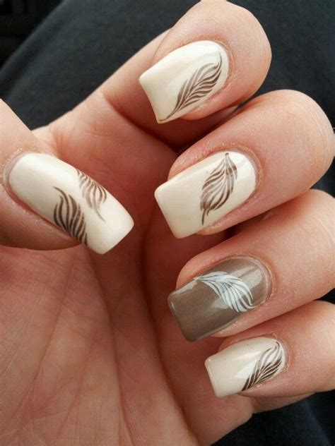 nail feather nageldesign nails nail designs und