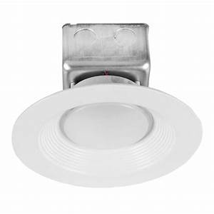 Halco Lighting Technologies Proled 6 In  White Integrated Led Recessed Ceiling Light Dimmable