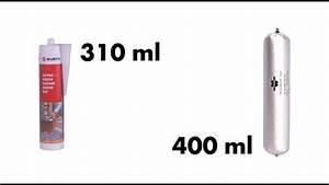 Pistolet Pour Tube Silicone : cartouche vs poche souple w rth youtube ~ Edinachiropracticcenter.com Idées de Décoration