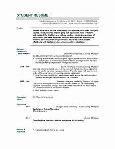 Objective In Resume For High School Graduate Resume Ideas