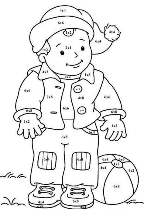 math coloring page coloring home