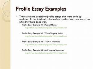 personal characteristics essay