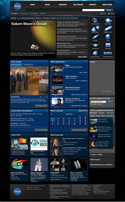 Website Homepage Nasa Wikipedia Internet Web Websites