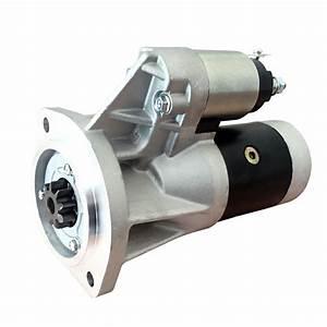 Starter Motor Fit For Nissan Navara D21 D22 Td24 Td27