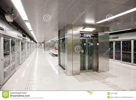 station interior interior of metro station gorg editorial photography image 31117382