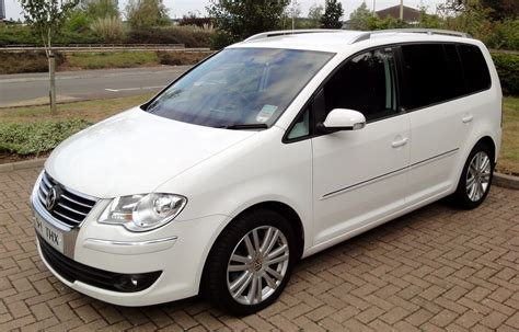 Vw Touran Verkaufsinserat by 2008 Volkswagen Touran Overview Cargurus