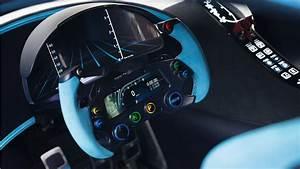 2015 Bugatti Vision Gran Turismo Interior Wallpaper HD