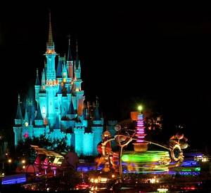 Walt Disney World images Magic Kingdom at night HD ...
