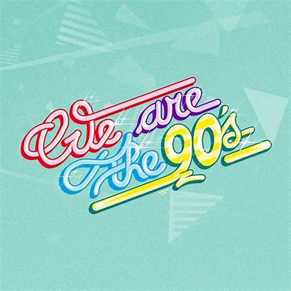 Logos 90s Typography Typographie Visiter Bb