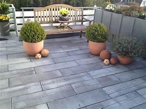 Terrasse In Holzoptik : terrasse in holzoptik aus mahora dielenstein der firma koll in velbert klo garten und ~ Sanjose-hotels-ca.com Haus und Dekorationen