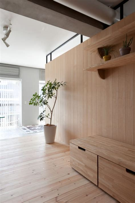 modular plywood partition      small space