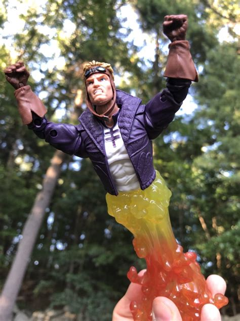force marvel legends cannonball review  marvel