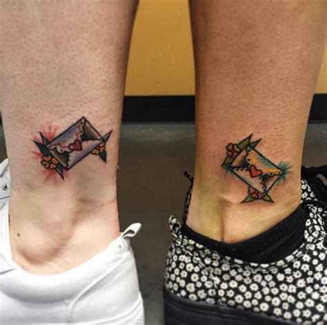 amazing  friend tattoos  bffs tattooblend