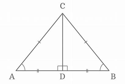 Triangle Sides Angles Isosceles Equal Opposite Triangles