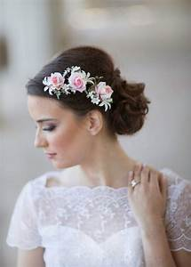 Pink Wedding Flower Bridal Hair Accessories 2228563