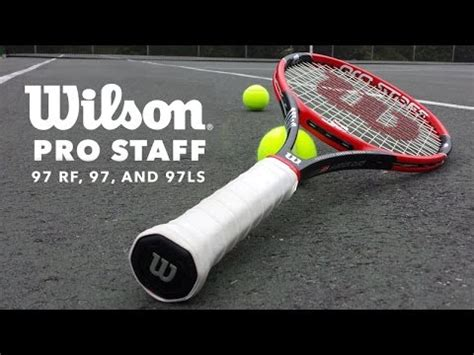 tennis racquet overview wilson pro staff  series youtube