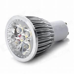 Led 5w Gu10 : gu10 5w 450lm 3500k warm white 5 led light bulb silver 85 245v free shipping dealextreme ~ Markanthonyermac.com Haus und Dekorationen