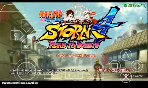 naruto ultimate ninja strom  nsuni ppsspp   learn