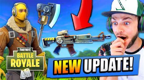update  fortnite battle royale  guns maps