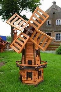 wooden garden windmill google search woodworking plans With moulin a vent decoration jardin 9 deko shop hannusch puits en bois enduit amazon fr jardin