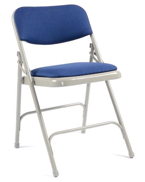 2700 folding chair seat back pad blue